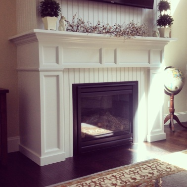 Custom Mantle by Alex Hickman